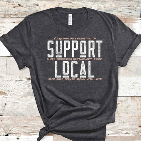 Support Local Graphic Tee