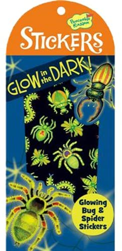 Glow-In-The-Dark Bugs & Spiders Stickers