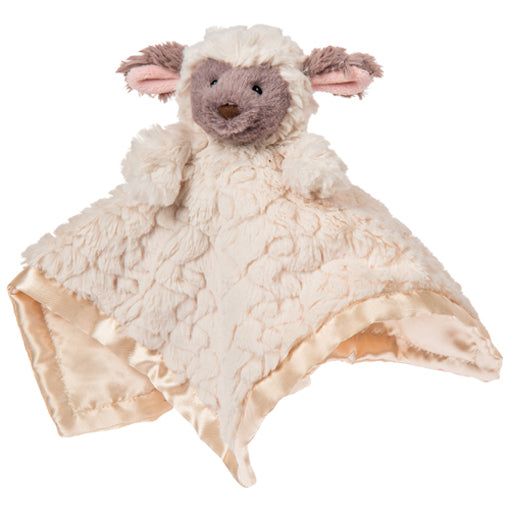 Mary Meyer Cream Lamb Plush Character Blanket - The Milk Moustache
