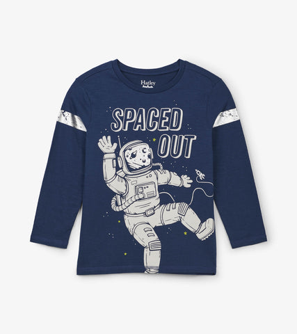 Hatley Spaced Out Long Sleeve Tee - The Milk Moustache