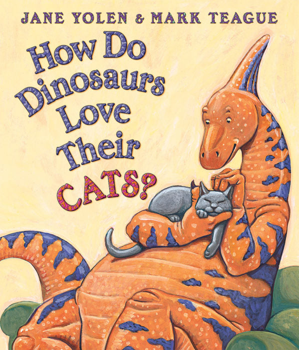 How Do Dinosaurs Love Their Cats? Board Book - The Milk Moustache