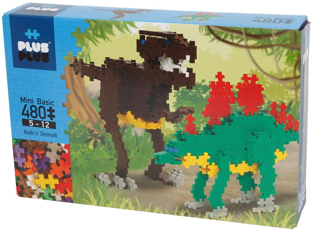Plus-Plus Construction Toy - 480-Piece Dinosaurs - The Milk Moustache