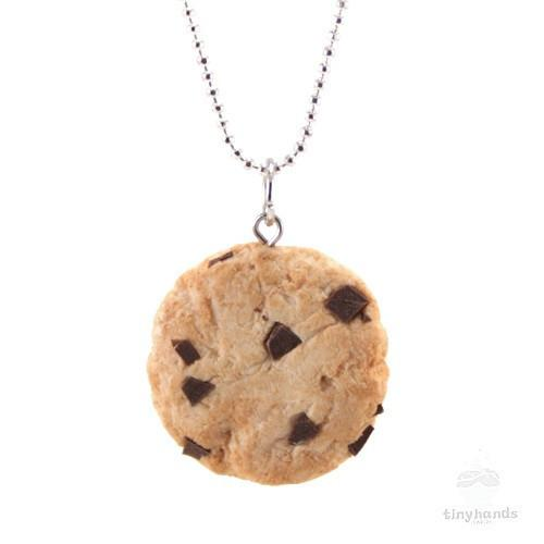 Tiny Hands Scented Food Jewelry Chocolate Chip Cookie Tiny Hands The Milk Moustache - 2
