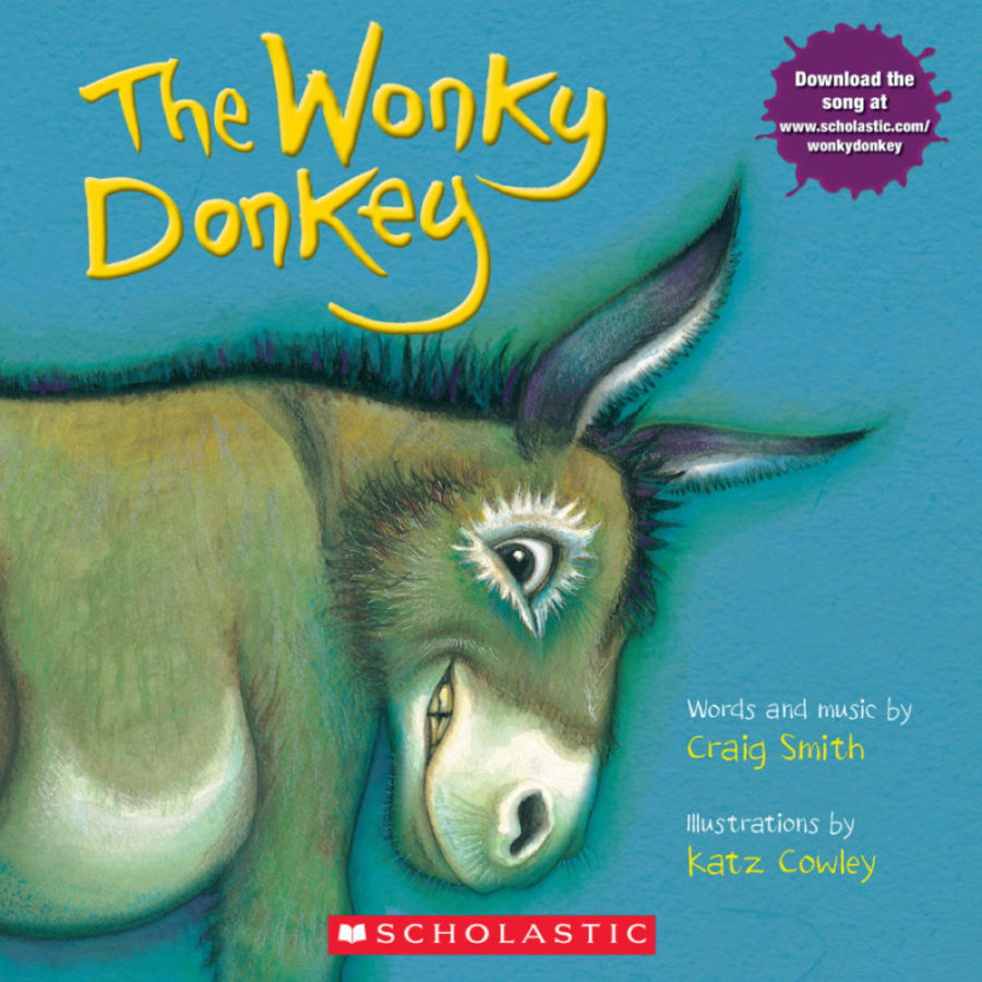 The Wonky Donkey Paperback Book - The Milk Moustache