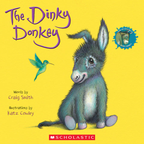 The Dinky Donkey Paperback Book - The Milk Moustache