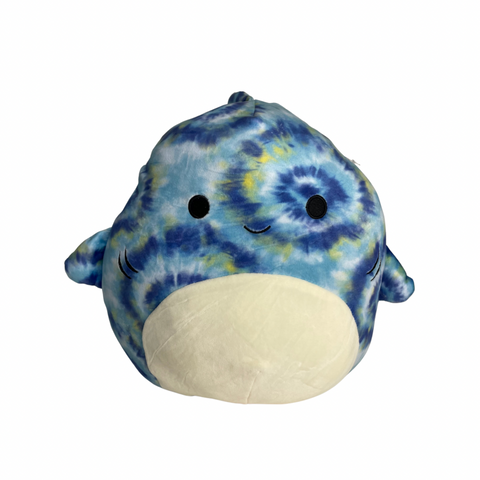 "12"" Luther Shark Squishmallow - The Milk Moustache"