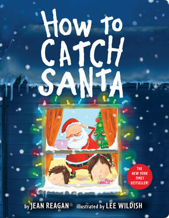 How to Catch Santa Board Book