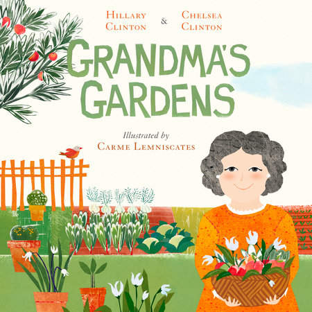 Grandma's Gardens Picture Book - The Milk Moustache