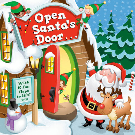 Open Santa's Door... Board Book