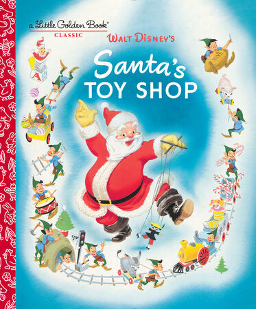 Santa's Toy Shop Board Book