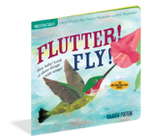Indestructibles Baby Books : Flutter! Fly! - The Milk Moustache