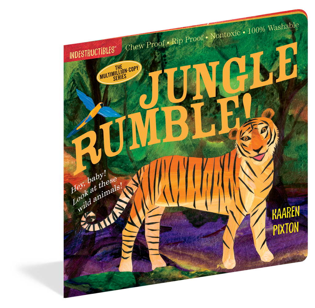 Indestructibles Baby Books : Jungle Rumble! - The Milk Moustache