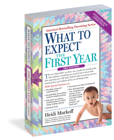 What to Expect The First Year - Third Edition - The Milk Moustache