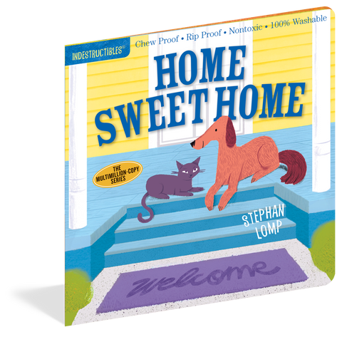 Indestructibles Baby Books : Home Sweet Home - The Milk Moustache