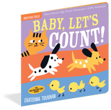 Indestructibles Baby Books : Baby, Let's Count! - The Milk Moustache