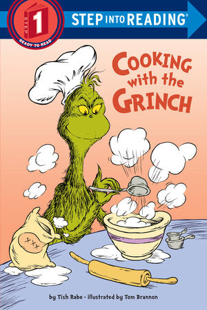 Cooking With The Grinch Step Into Reading Book