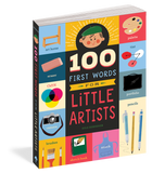 100 First Words for Little Artists Board Book - The Milk Moustache