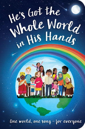 He's Got the Whole World in His Hands Board Book - The Milk Moustache