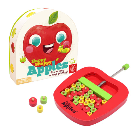 Happy Snappy Apples Game - The Milk Moustache