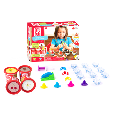 Tutti Frutti Modeling Dough - Cupcakes Kit - The Milk Moustache