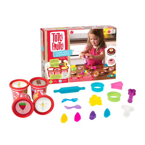 Tutti Frutti Modeling Dough - Cookie Maker Kit - The Milk Moustache
