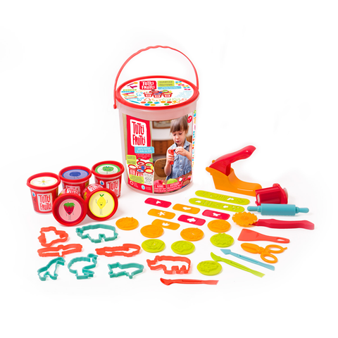Tutti Frutti Modeling Dough - Party Bucket - The Milk Moustache
