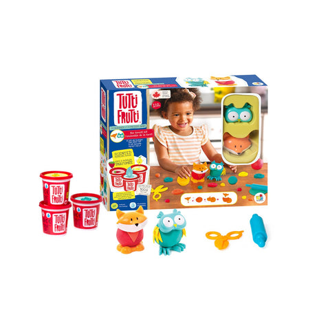 Tutti Frutti Modeling Dough - Buddies Forest Kit - The Milk Moustache