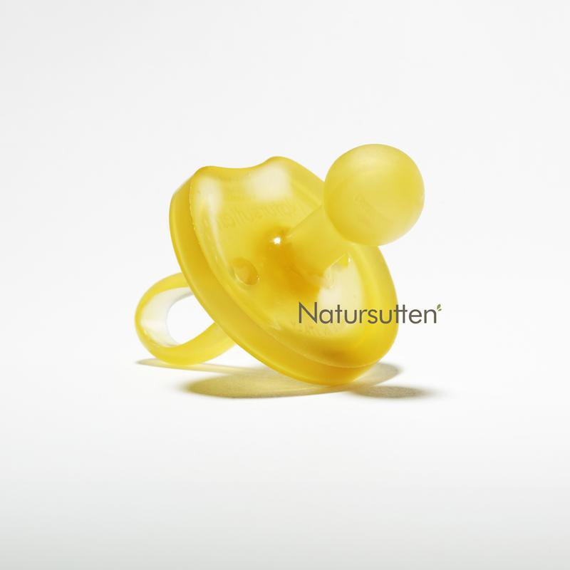 Natursutten Butterfly Rounded Pacifier -Small (0-6 months) - The Milk Moustache