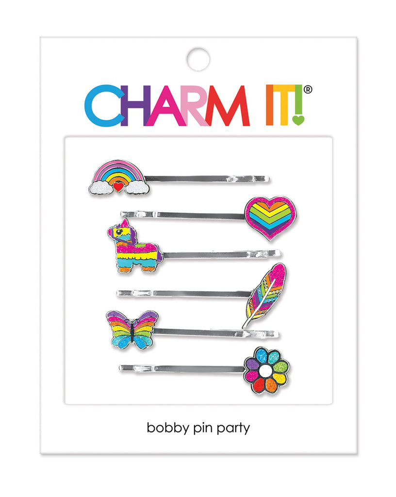 CHARM IT! Rainbow Bobby Pin Party Set - The Milk Moustache