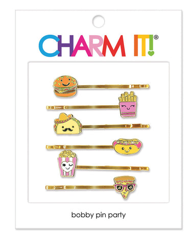 CHARM IT! Food Bobby Pin Party Set