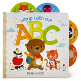 Camp with Me ABC Board Book - The Milk Moustache