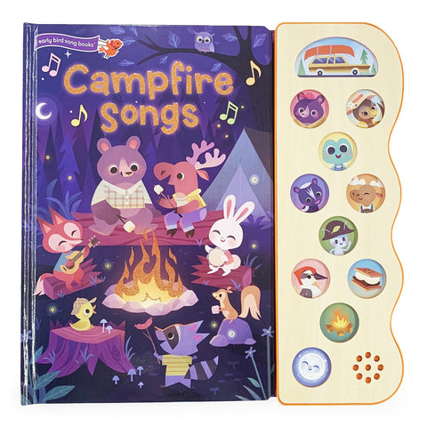 Campfire Songs Sound Book - The Milk Moustache