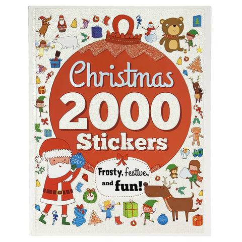 2000 Christmas Stickers Activity Book - The Milk Moustache