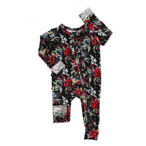 Gigi and Max Holly Floral Ruffle Zip - The Milk Moustache