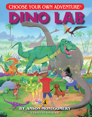 Choose Your Own Adventure : Dino Lab Paperback Book - The Milk Moustache