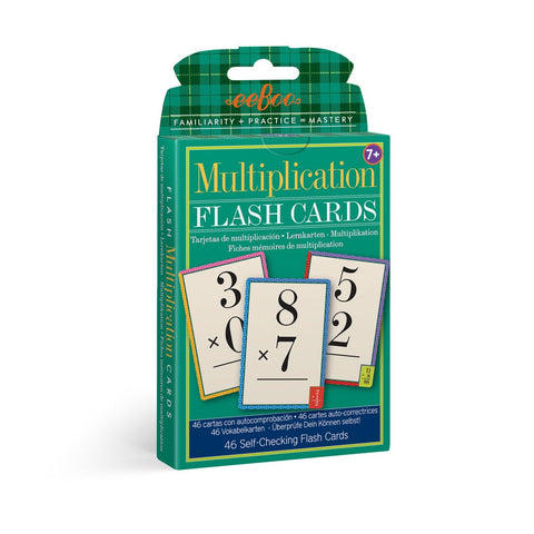 Multiplication Flash Cards - The Milk Moustache