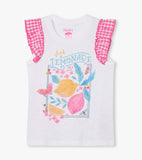 Hatley Fresh Lemonade Eyelet Trim Tank Top - The Milk Moustache