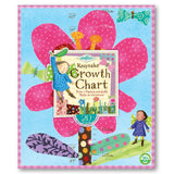 Growth Chart - Hot Pink Flower - The Milk Moustache