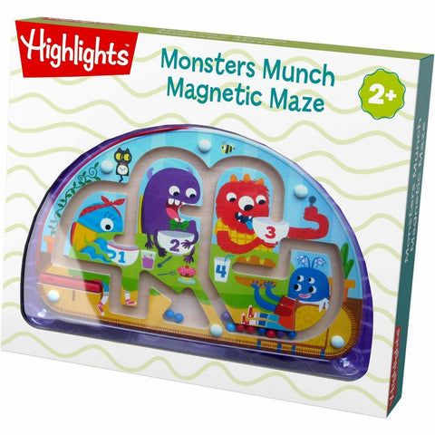 Haba Magnetic Maze Monsters Munch - The Milk Moustache