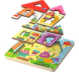 Haba Monster Mansion Wooden Puzzle - The Milk Moustache