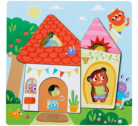Haba Monster Mansion Wooden Puzzle