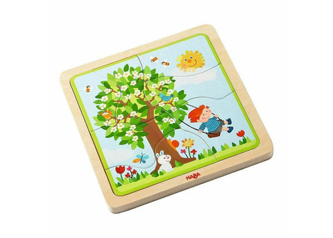 Haba Wooden Puzzle My Time of the Year