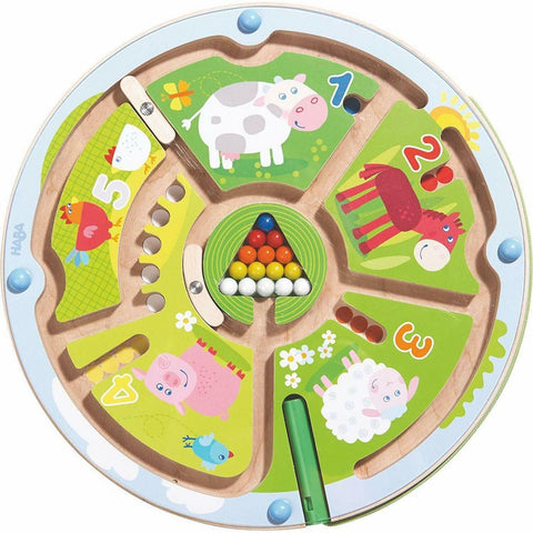 Haba Number Maze Magnetic Game - The Milk Moustache