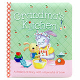 Grandma's Kitchen Board Book - The Milk Moustache
