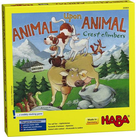 Haba Animal Upon Animal Crest Climbers Game