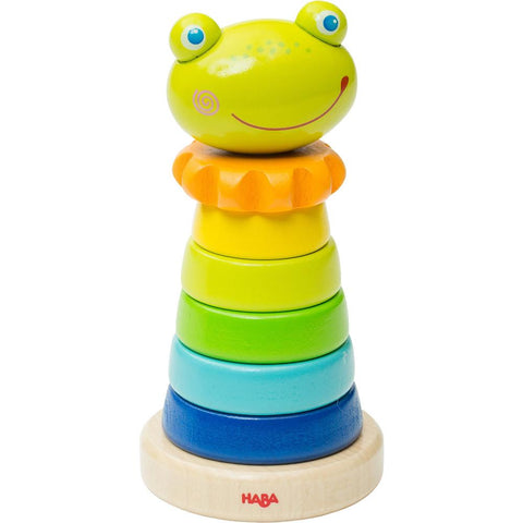 Haba Frido Frog Stacker Stacking Toy - The Milk Moustache