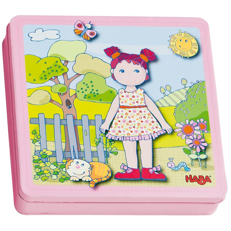 Haba Magnetic Dress-Up Lilli Game
