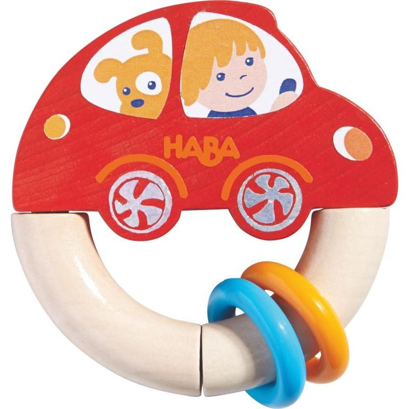 Haba Red Racer Clutching Toy - The Milk Moustache