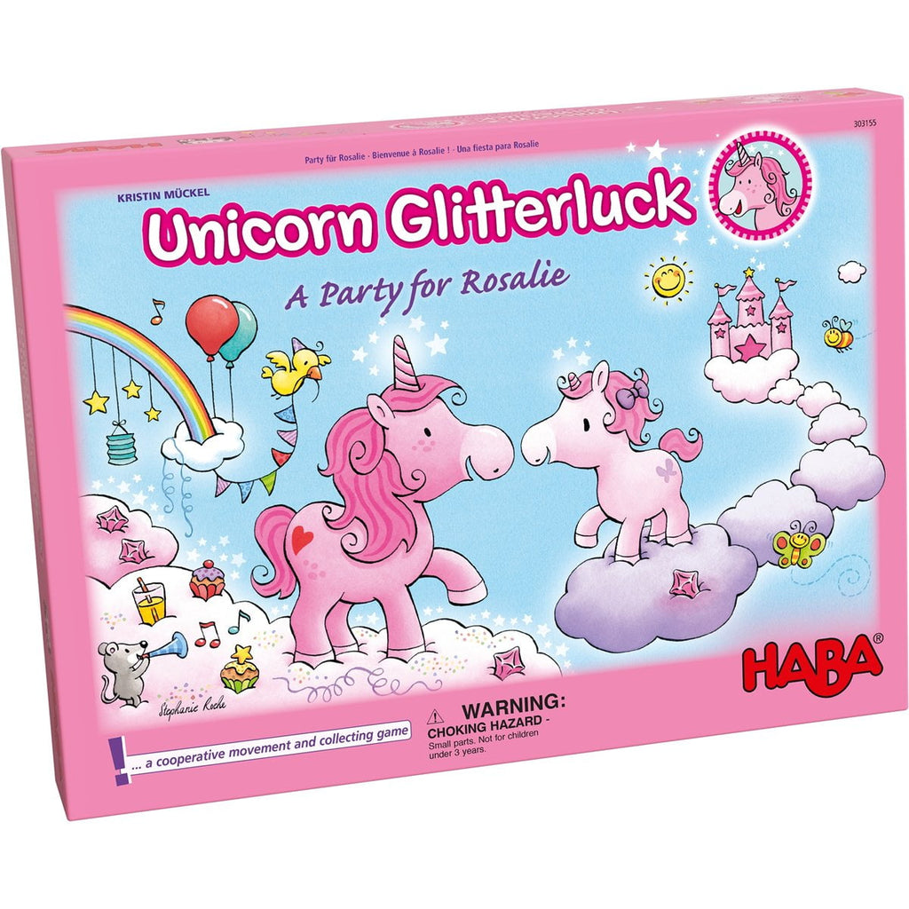 Haba Game : Unicorn Glitterluck - A Party For Rosalie - The Milk Moustache