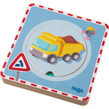 Haba Construction Site Wooden Puzzle - The Milk Moustache